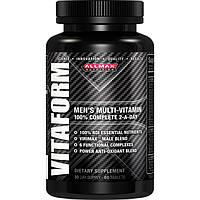 Витаминный комплекс для мужчин, VitaForm AllMax,  60 табл