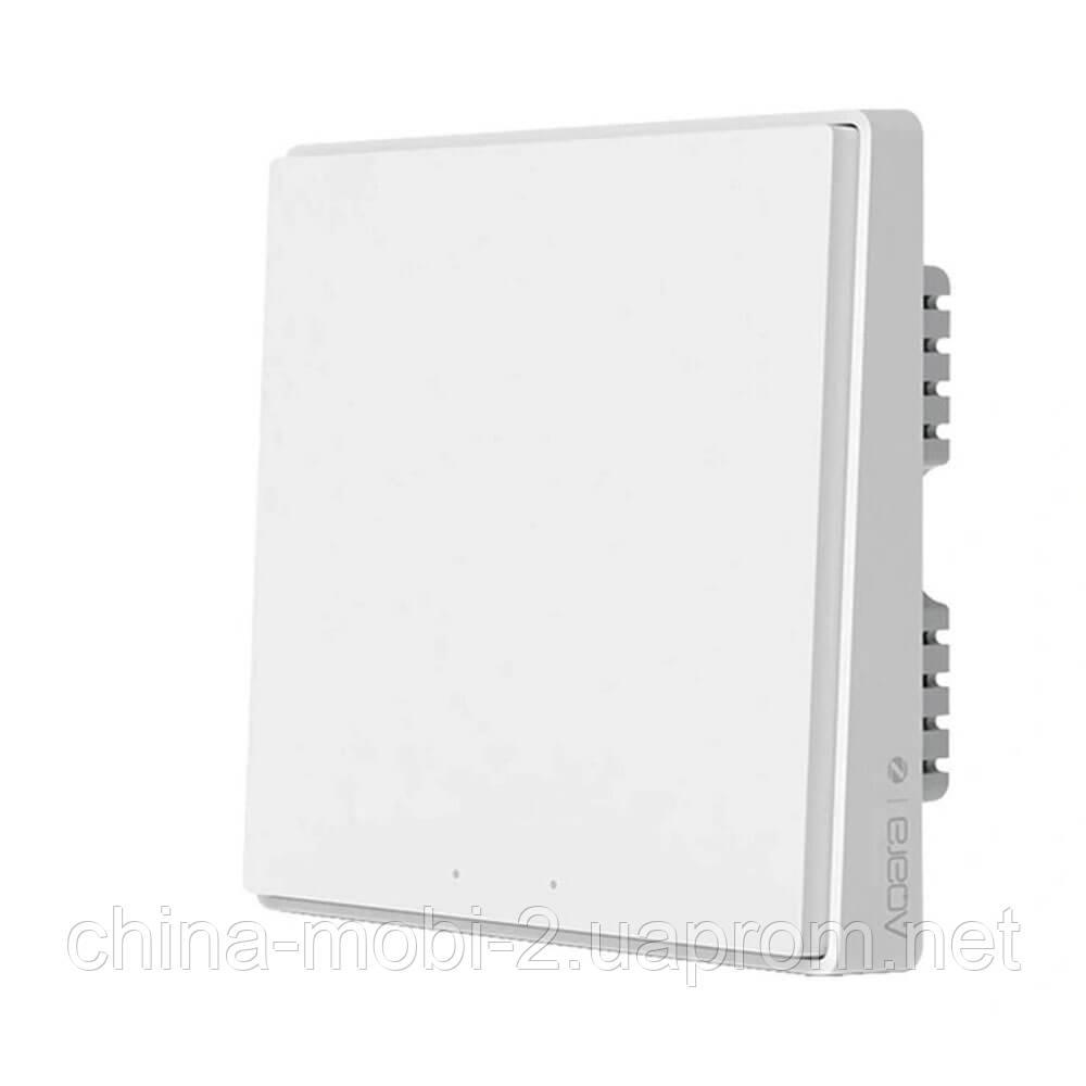 Вимикач Aqara Light Switch D1 ZigBee 3.0 (2 кнопки) white QBKG22LM