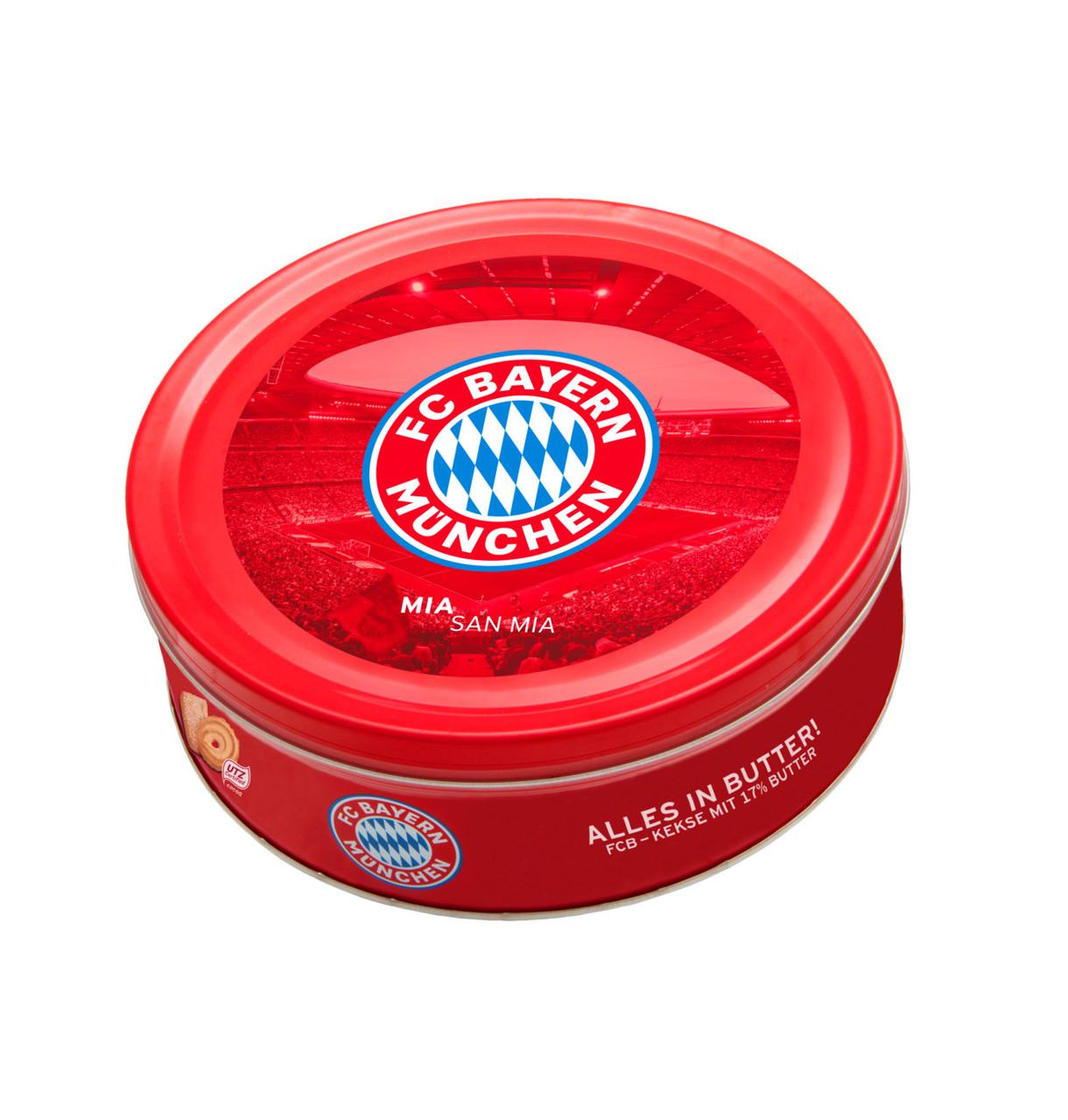 Печиво FC Bayern München Butter cookies 454г, 12шт/ящ