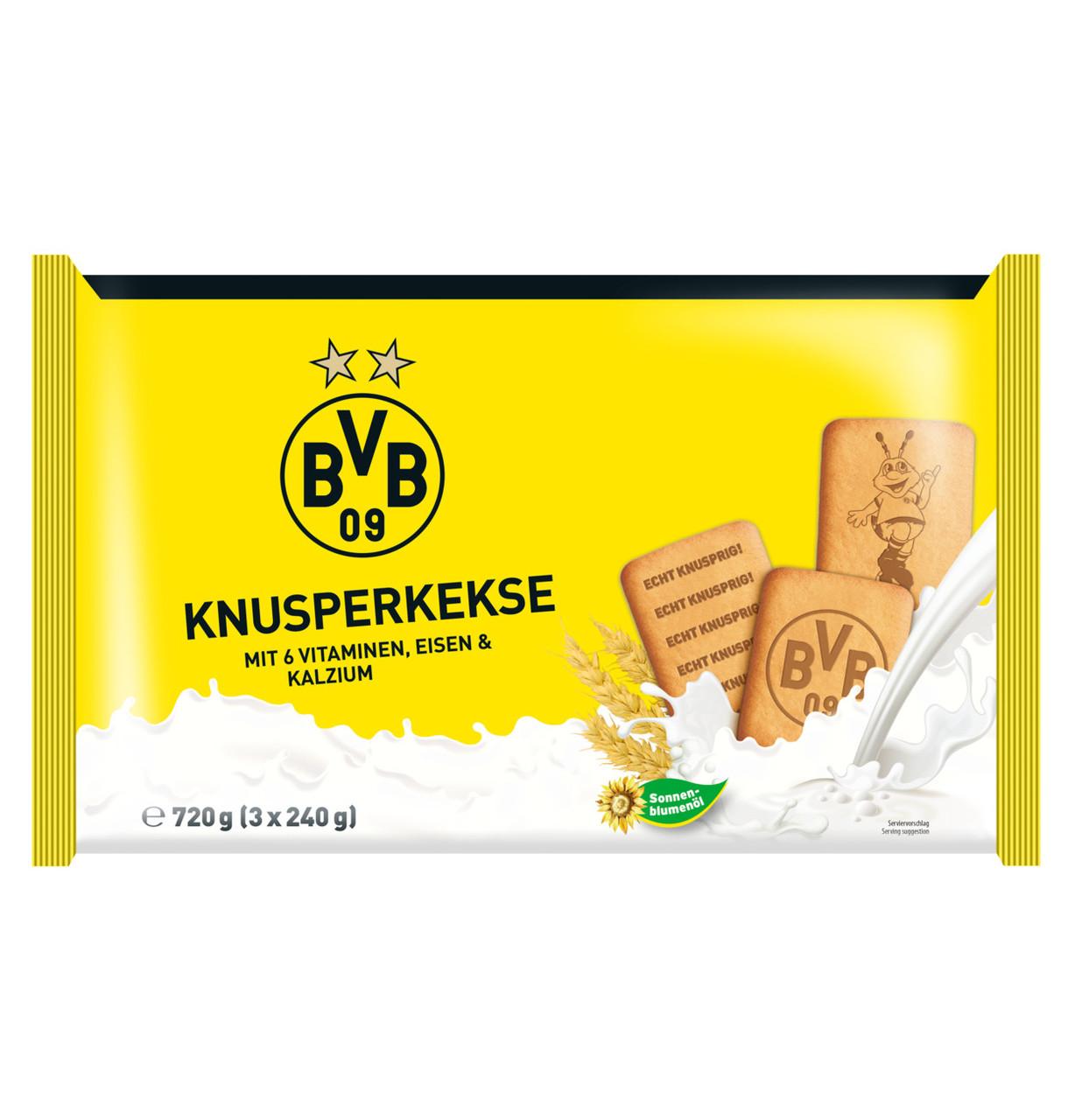 Печиво BVB wheat biscuits (3x240г) 720г, 16шт/ящ
