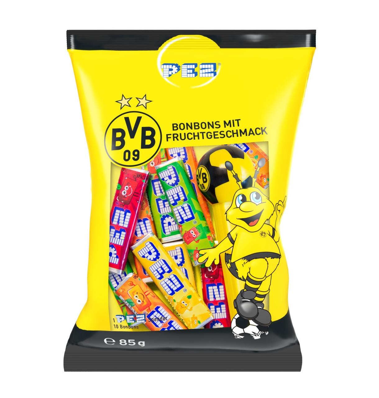 Цукерки жувальні BVB PEZ-dispenser, 85г, 24шт/ящ