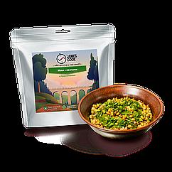 Сублимоване Маш з овочами James Cook. Похідна їжа