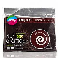 Крем-краска для волос , 4.06 (dark brown)  / - закрашивание седины 100 % / 20гр+20гр.
