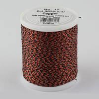 3029/9806 Glamour №12 вискозная нить с металлизированным эффектом, 200м