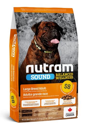 Сухий корм холистик Nutram Sound Balanced Wellness Large Breed Adult 11.4 кг для дорослих собак великих порід