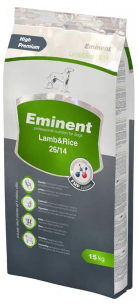 Сухий Корм Eminent Lamb and Rice 15 кг