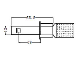 Комплект led ламп в головной свет SLP LED G5 под цоколь H1 20W Philips Luxeon led 9-30 В. Белый, фото 3