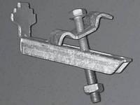 Комплект крепления Бабочка М8х70А для решетчатых настилов