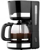 Кофеварка капельная ECG KP 2115 Black (ЧЕХИЯ, 1000Вт, 1,5л, антикапля, поддержание температуры)