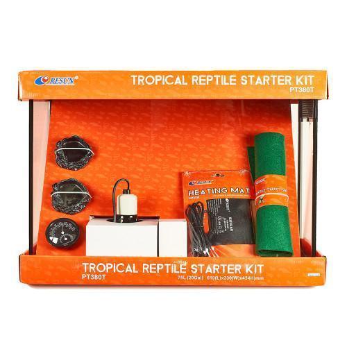 Набор для тропического террариума Resun PT 380T, 619×330×434 мм