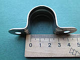 Нержавеющий хомут для трубы 25 мм, фото 4