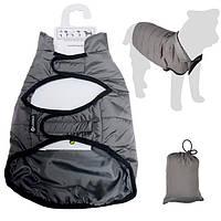 Flamingo Coat Eden ФЛАМИНГО попона защитная одежда для собак серый 70 см