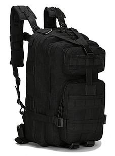 Рюкзак військовий тактичний штурмової Molle Assault A12 25 л, чорний