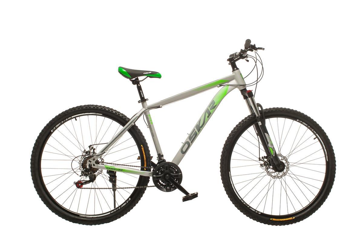 """Велосипед Oskar 29"""" M134 сірий (29-m134-gr)"""