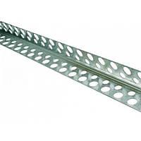 Уголок перфорированный алюминиевый 2 м/50 шт.