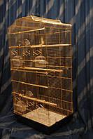 Клетка для птиц 614 золото