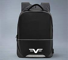 "Рюкзак Frime Shell Black/Grey, для ноутбука до 15.6"""