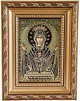 Икона Божией Матери «Неупиваемая чаша» (багет, гальваника)