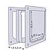 Дверцята Trixie «Free» S-M 30 x 36 см (пластик), фото 3