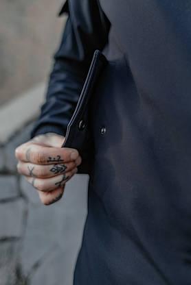 Костюм чоловічий синій демісезонний Intruder Softshell Easy.Куртка + штани осінній   весняний   річний, фото 3