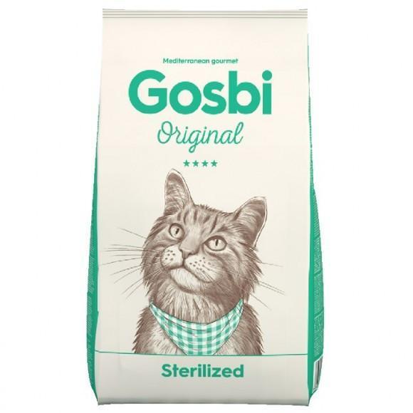 Gosbi Original Sterilized 1 кг корм с курицей для кастрированных котов и стерилизованных кошек