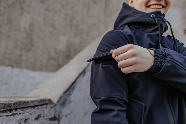 Костюм мужской синий демисезонный Intruder Softshell Easy.Куртка + штаны осенний | весенний | летний, фото 2
