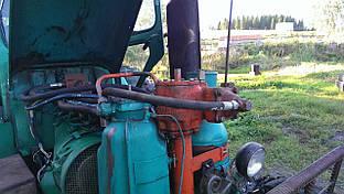Гідропідсилювач керма Т-40 з навісним і кронштейном