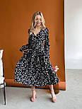 Молодіжне плаття жіноче вільний довжини Міді, фото 3