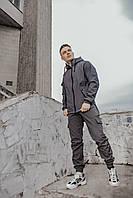 Спортивный костюм мужской Soft Shell easy синий весенний осенний | Ветровка + Штаны Софт Шел ЛЮКС качества