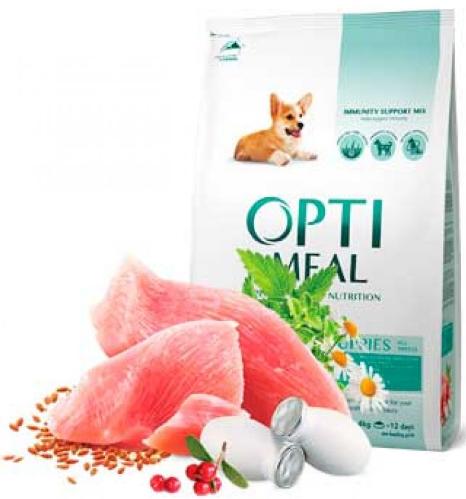 Корм Optimeal (Оптима) Puppies All Breeds 12 кг для цуценят всіх порід