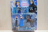 Герои мультфильма Холодное сердце Frozen 3 героя, на планшетке 28*23,5*4,5 см.
