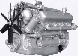 Двигун ЯМЗ-238Д-1
