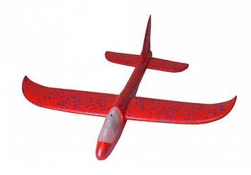 Літак пінопласт. 49см,світ.,у пакунку,49х11х5см №CH48-3(100)