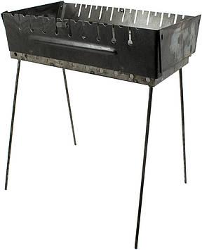 Мангал-валіза на 10 шампурів №УК-М10(1)
