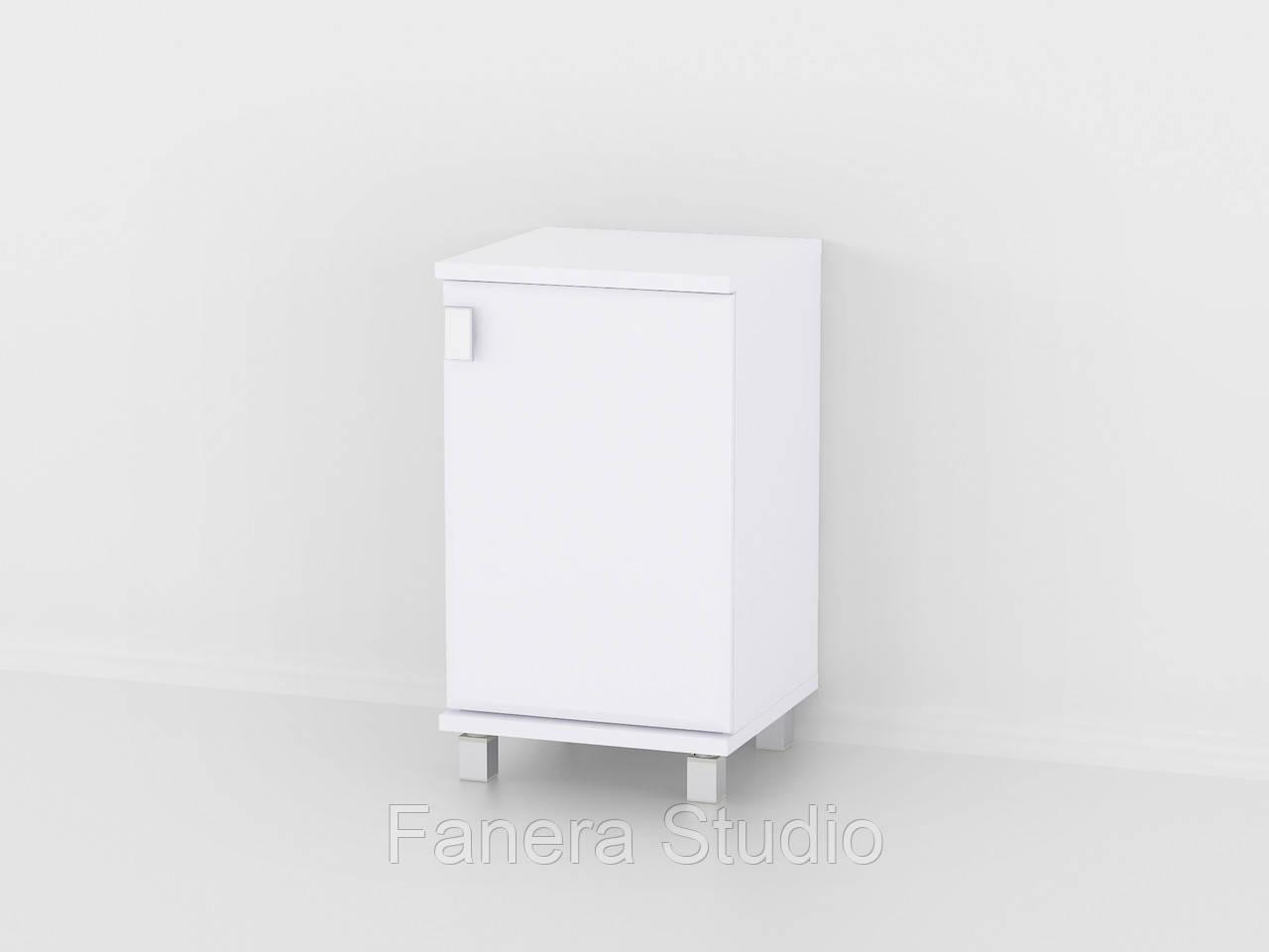 Тумба из влагостойкого МДФ колір Білий