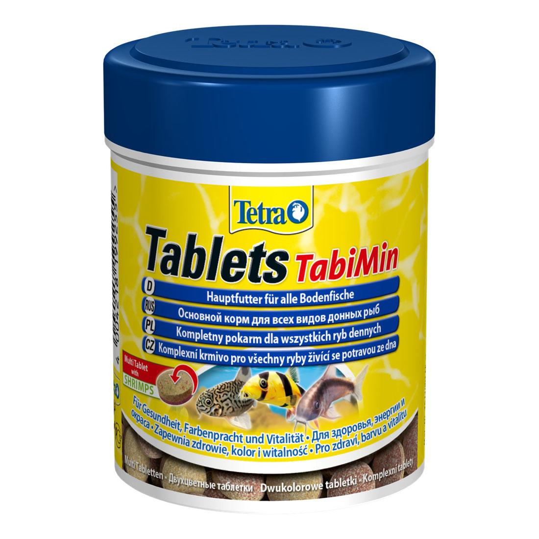 Сухой корм для аквариумных рыб Tetra в таблетках «Tablets TabiMin» 275 шт. (для донных рыб)