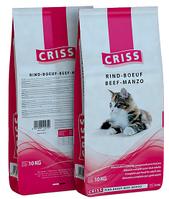 Сухой корм CRISS с говядиной для взрослых кошек всех пород 10 кг