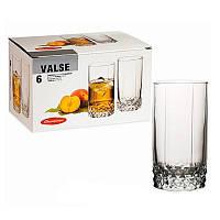Набор высоких стаканов Pasabahce Valse 290 мл 6 шт