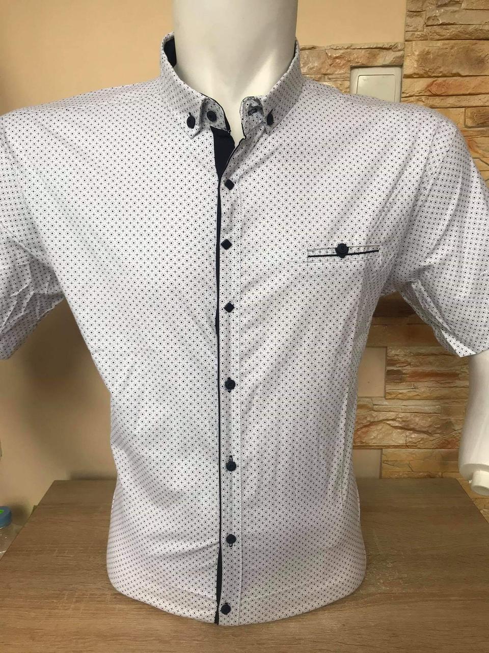 Рубашка короткий рукав батал G-port (910 model)