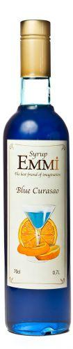 Сироп Эмми (Емми) Блю Кюросао 700 мл (900 грамм) (Syrup Emmi Blue Curacao 0.7)
