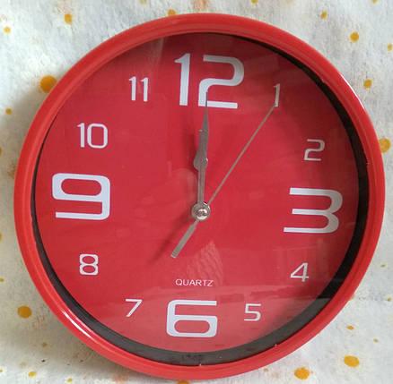 Годинник настінний d.18.5см. круглий, фото 2