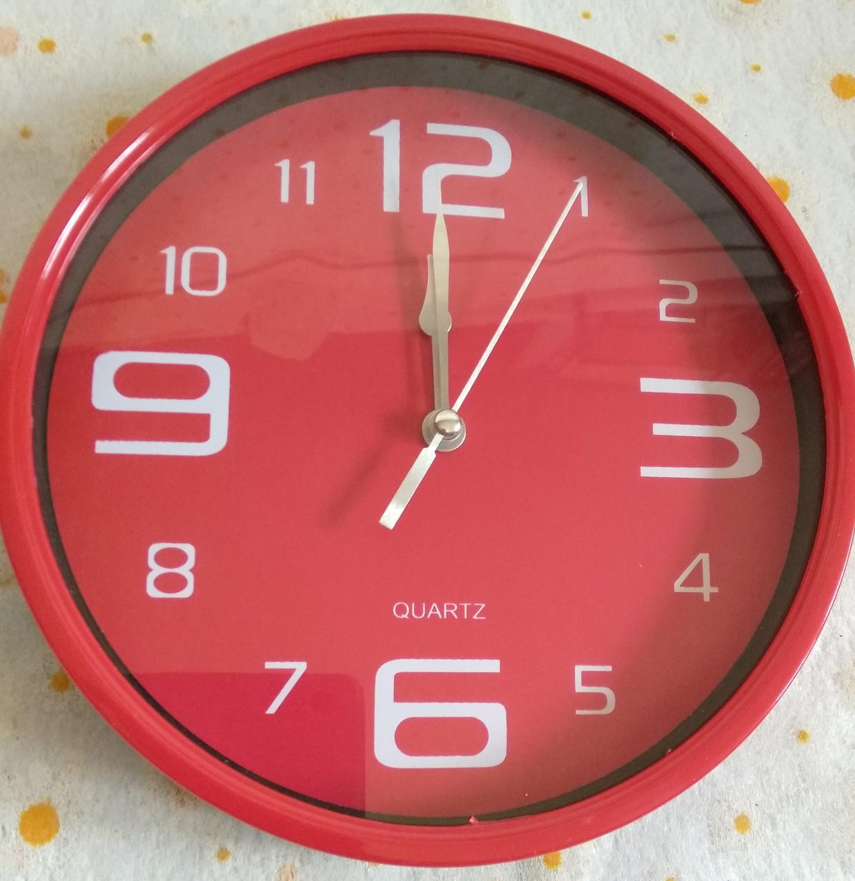 Годинник настінний d.18.5см. круглий
