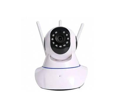 Беспроводная Поворотная IP Камера Видеонаблюдения WiFi MicroSD ZN 180924