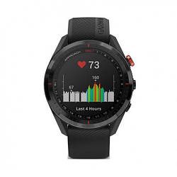 Смарт-часы Garmin APPROACH S62 Black Ceramic Bezel with Black Band (010-02200-00)