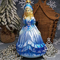 Набор стеклянных елочных игрушек Золушка, фото 3