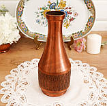 Старый коллекционный медный кувшин, медь, латунь, Германия, винтаж, фото 9