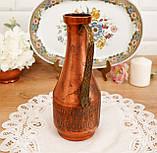 Старий колекційний мідний глечик, мідь, латунь, Німеччина, вінтаж, фото 3