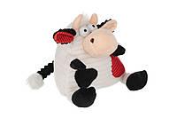 Мягкая игрушка Новый Год Коровка черно-белая 18см same toy (a1009/18)