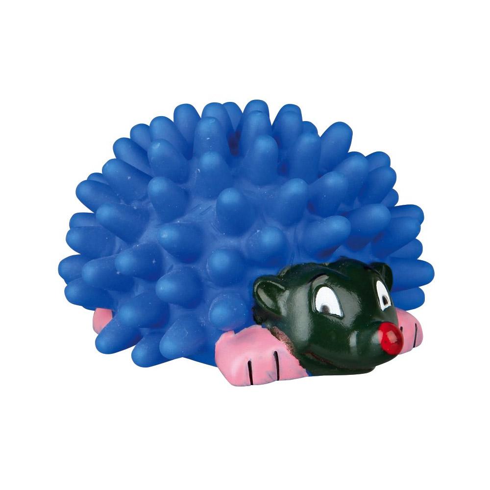 Игрушка для собак Trixie Ёжик с пищалкой 10 см (винил, цвета в ассортименте)