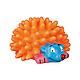 Игрушка для собак Trixie Ёжик с пищалкой 10 см (винил, цвета в ассортименте), фото 2